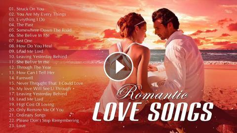 The Best Of Love Songs 80's 90's Playlist - Most Romantic Beautiful