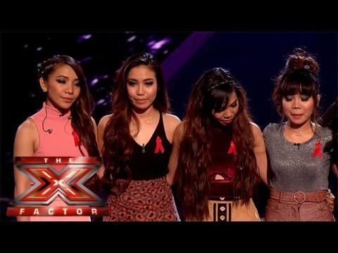4th Impact are the ninth act to leave the show  | Week 5 Results | The X Factor 2015