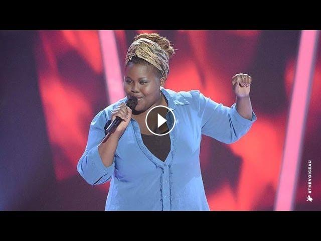 Thando Sikwila Sings Mercy | The Voice Australia 2014