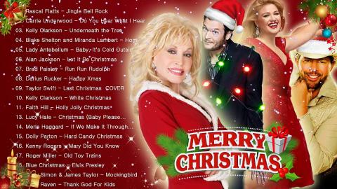 female country christmas songs
