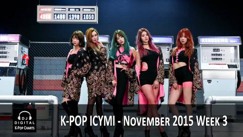 K-Pop ICYMI - November 2015 Week 3 (New K-Pop Releases)