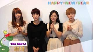 THE SEEYA 2013새해인사!  Happy New Year~