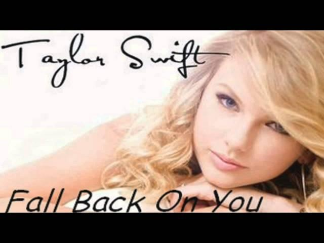 Taylor Swift (Acoustic) - Fall Back On You