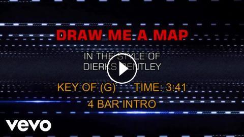 Dierks Bentley - Draw Me A Map (Karaoke)