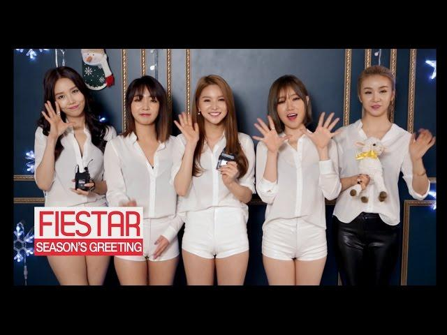 Season's Greeting from FIESTAR(피에스타) [ENG/CHN SUB]