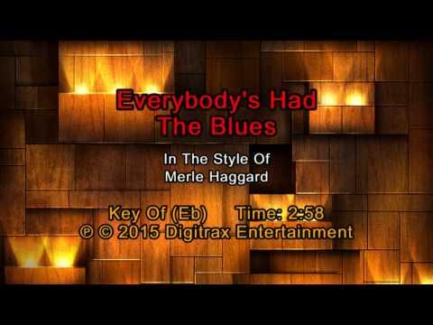Merle Haggard - Everybody's Had The Blues (Backing Track)
