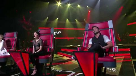 Sam Rabbone Sings All Of Me | The Voice Australia 2015