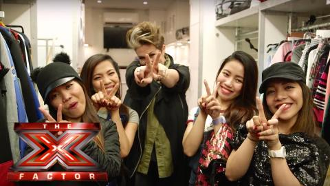 4th Impact go glam with Very.co.uk for Christmas! | The X Factor 2015