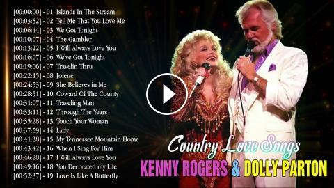 Kenny Rogers, Dolly Parton: Greatest Hits | Best Country